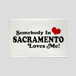 Sacramento Rectangle Magnet