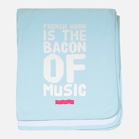Cute Bacon baby blanket