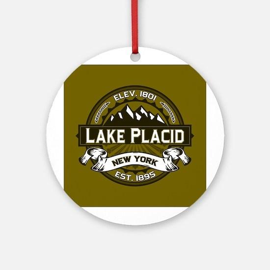 Lake Placid Olive Logo Ornament (Round)