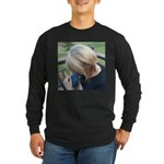 Cyrus and Pam Long Sleeve Dark T-Shirt