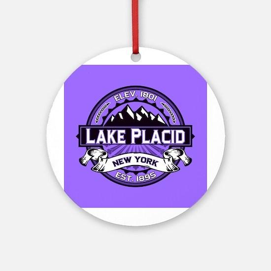 Lake Placid Violet Logo Ornament (Round)