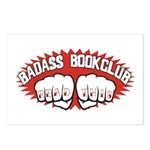 Badass Book Club Postcards (Package of 8)