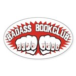 Badass Book Club Sticker (Oval)