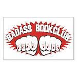 Badass Book Club Sticker (Rectangle)