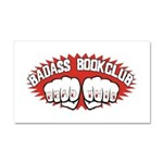 Badass Book Club Car Magnet 20 x 12