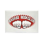 Badass Book Club Rectangle Magnet