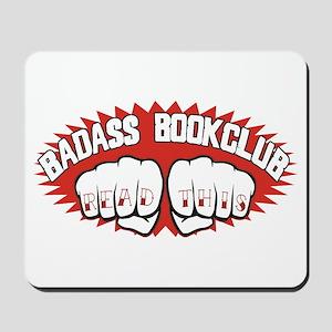 Badass Book Club Mousepad