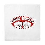 Badass Book Club Queen Duvet