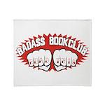 Badass Book Club Throw Blanket