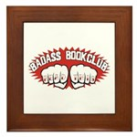 Badass Book Club Framed Tile