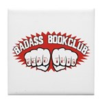 Badass Book Club Tile Coaster