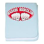 Badass Book Club baby blanket
