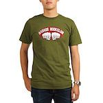 Badass Book Club Organic Men's T-Shirt (dark)