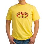 Badass Book Club Yellow T-Shirt
