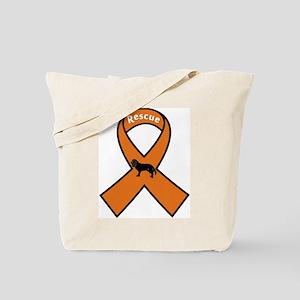 Cavalier Rescue Ribbon Tote Bag