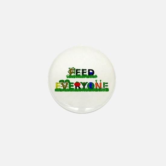 Feed Everyone Mini Button