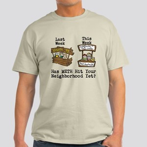 ROMPMOR Neighborhood Meth Custom Light T-Shirt
