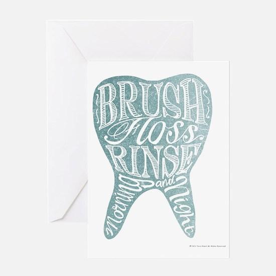 Cute Blue tooth Greeting Card
