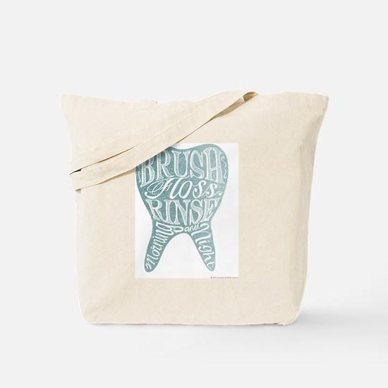 Unique Tooth Tote Bag