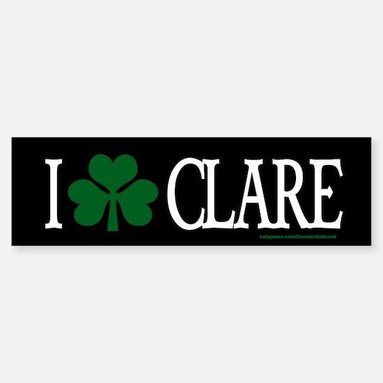 Clare Bumper Bumper Bumper Sticker