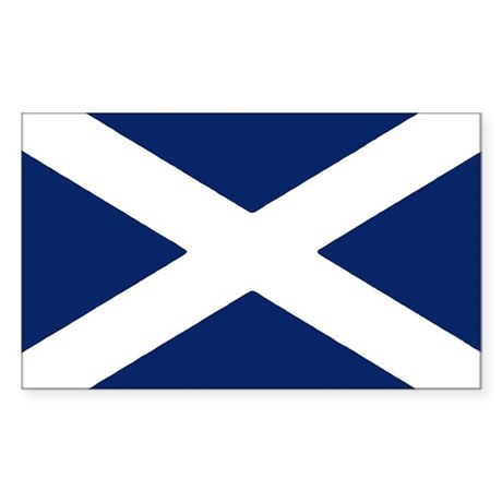 Scottish Flag Auto Decal / Sticker