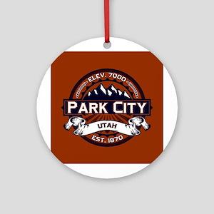 Park City Vibrant Ornament (Round)