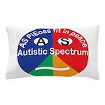 Autism symbol Pillow Case