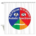 Autism symbol Shower Curtain