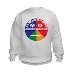 Autism symbol Kids Sweatshirt