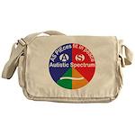 Autistic Spectrum symbol Messenger Bag