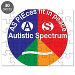 Autistic Spectrum symbol Puzzle