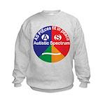 Autistic Spectrum symbol Kids Sweatshirt