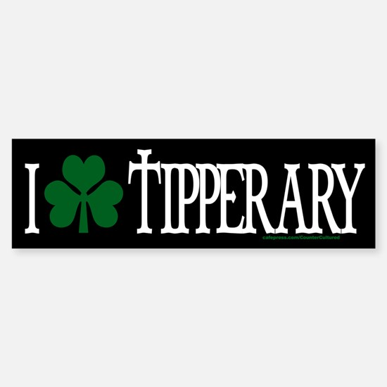 Tipperary Bumper Bumper Bumper Sticker