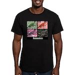 Romneleon Men's Fitted T-Shirt (dark)