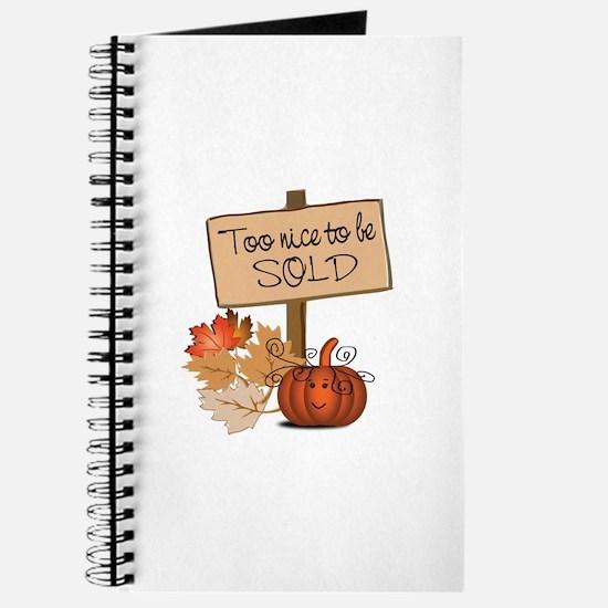 Cute Foilage Journal