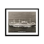 USS EVERGLADES Framed Panel Print