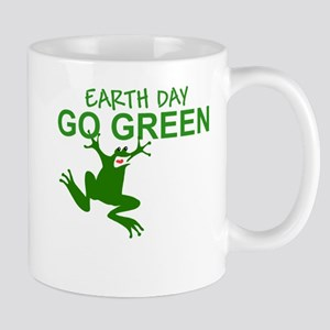 Earth Day Frog Mug