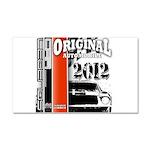 Original Muscle Car Red Car Magnet 20 x 12