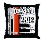 Original Muscle Car Red Throw Pillow