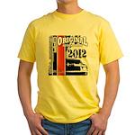 Original Muscle Car Red Yellow T-Shirt