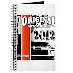 Original Muscle Car Red Journal