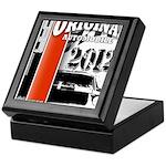 Original Muscle Car Red Keepsake Box