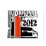 Original Muscle Car Red Postcards (Package of 8)