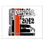 Original Muscle Car Red Small Poster