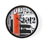 Original Muscle Car Red Wall Clock