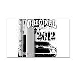 Original Muscle Car Gray Car Magnet 20 x 12