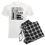 Original Muscle Car Gray Men's Light Pajamas