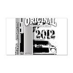 Original Muscle Car Gray 22x14 Wall Peel