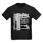 Original Muscle Car Gray Kids Dark T-Shirt
