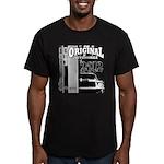 Original Muscle Car Gray Men's Fitted T-Shirt (dar